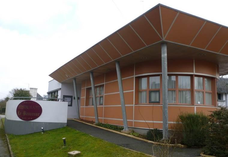Restaurant-Le-Bienvenue-Roudouallec-Pays-Roi-Morvan-Morbihan-Bretagne-Sud © OTPRM