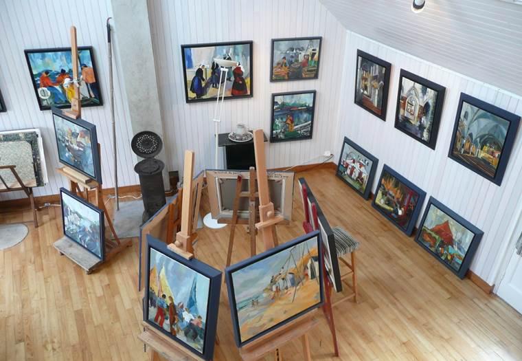 Atelier-Dyf-Arzon-Presqu'île-de-Rhuys-Golfe-du-Morbihan-Bretagne sud © Corinne Godat