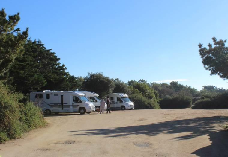 aire camping car damgan morbihan © ot