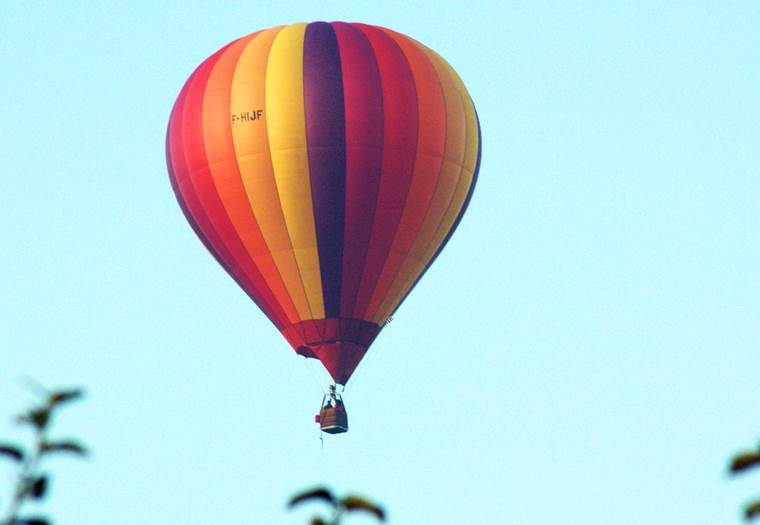 montgolfiere vent