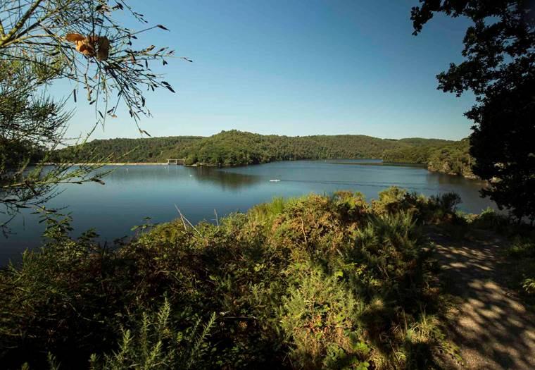 tour du Lac de Guerlédan  © OT Pontivy communauté