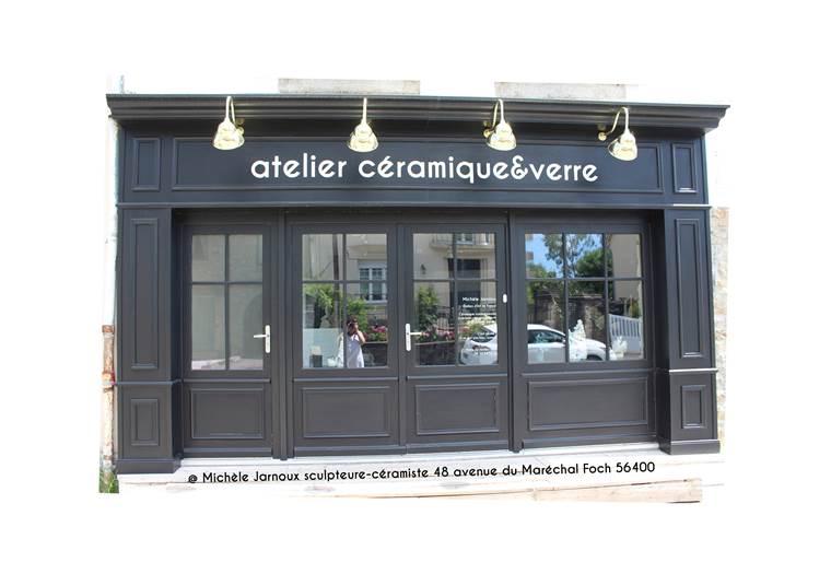 Atelier-Céramique-Verre-Michèle-Jarnoux © Michèle Jarnoux