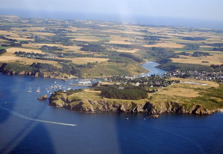 Lande de Kergostio Sauzon - Belle-Ile - Morbihan Bretagne Sud ©