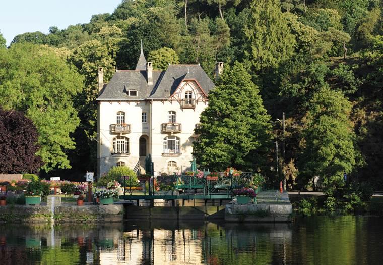 Villa Tranquillité au bord du canal ©