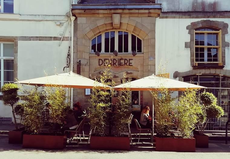 Restaurant-Derrière-Vannes-Golfe-du-Morbihan-Bretagne sud © Restaurant Derrière