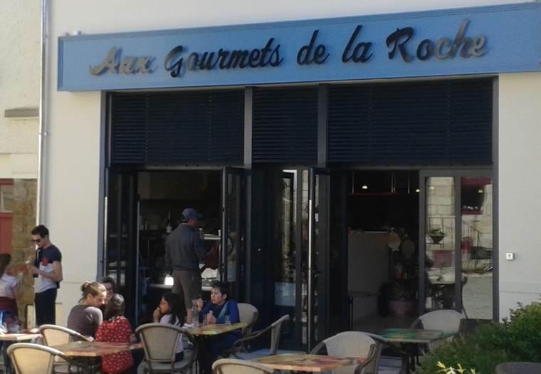 Aux Gourmets de la Roche - La Roche Bernard Morbihan Bretagne Sud  © TRAZIC P