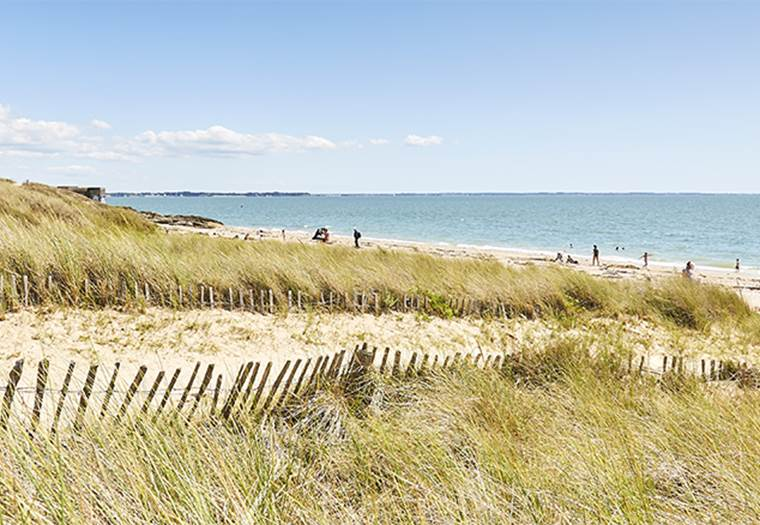 Grande plage de Kervoyal Damgan Morbihan © A. Lamoureux