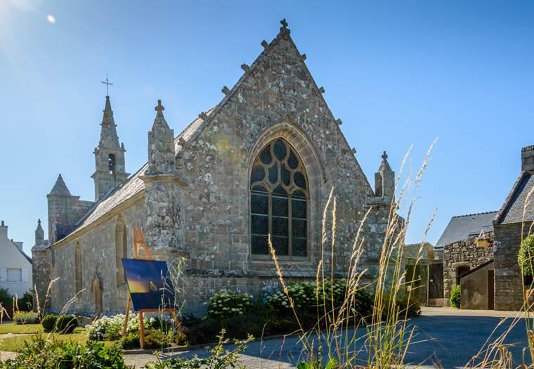 Chapelle-Notre Dame des Fleurs 3-Plouharnel-Morbihan-Bretagne-Sud © Patrice Baissac