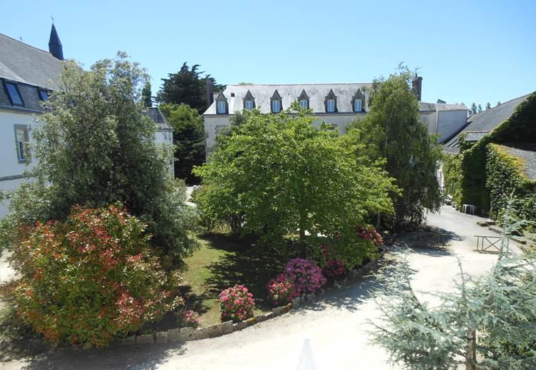 Abbaye-de-Rhuys-Centre-Culturel-et-Spirituel-Saint-Gildas-de-Rhuys-Presqu'île-de-Rhuys-Golfe-du-Morbihan-Bretagne sud © Abbaye de Rhuys