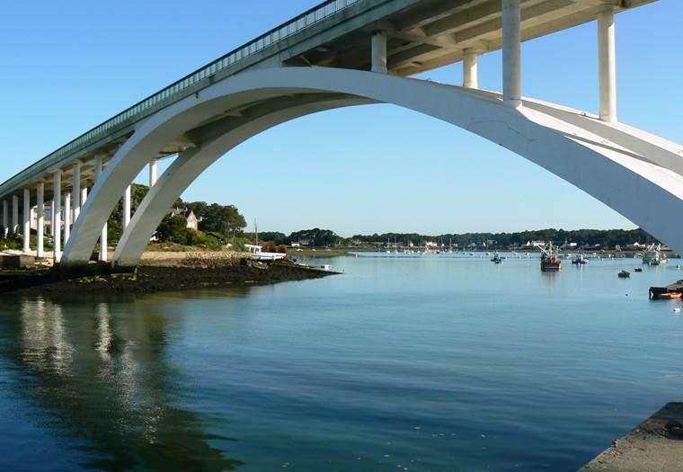 Pont de Kerisper - La Trinité sur mer - Morbihan Bretagne Sud © Office de Tourisme