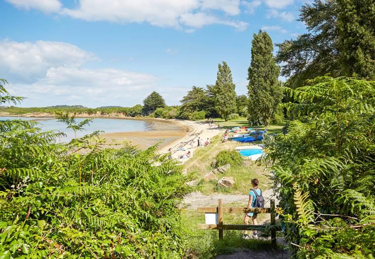 plage des fontaines - Arzon - Presqu'île de Rhuys - Golfe du Morbihan © Alexandre Lamoureux