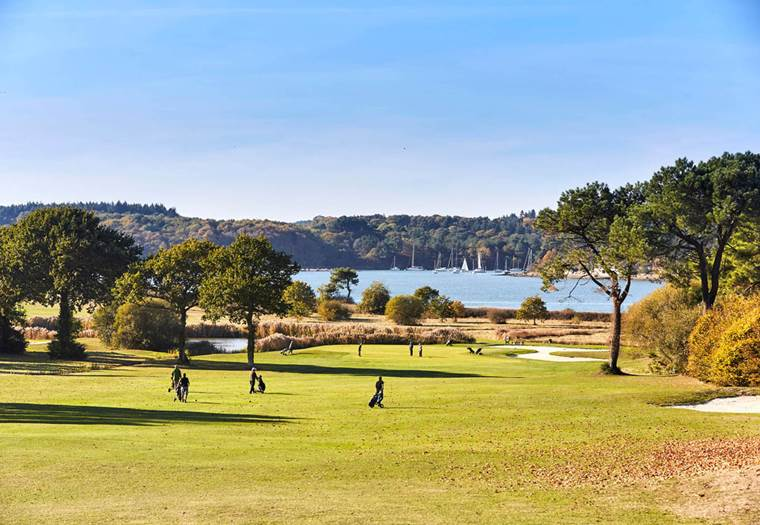Golf-Blue-Green-Baden-Golfe-du-Morbihan-Bretagne sud © Alexandre Lamoureux