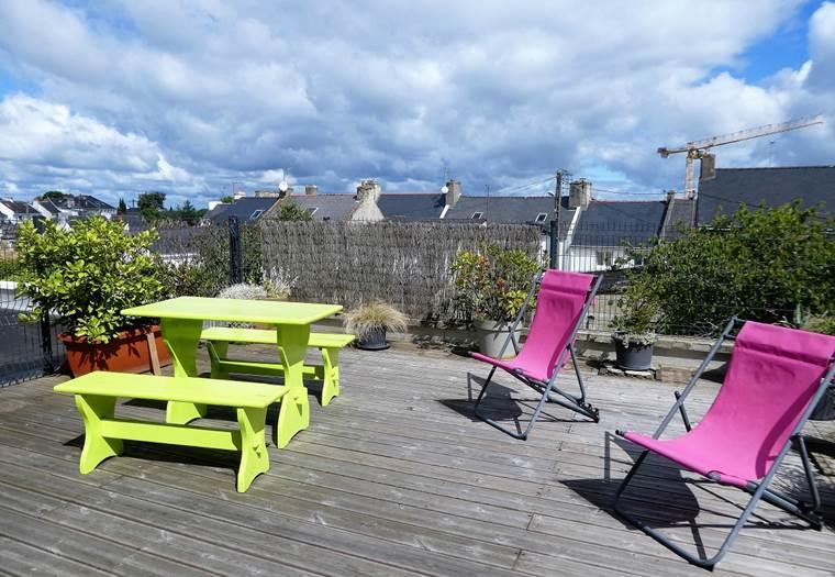 La terrasse - sarzeau - bretagne sud - golfe morbihan ©
