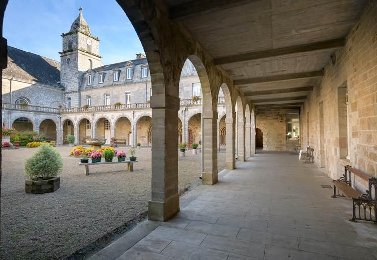 abbaye-notre-dame-de-langonnet-pays-du-roi-morvan-Morbihan-Bretagne-sud © Emmanuel Berthier