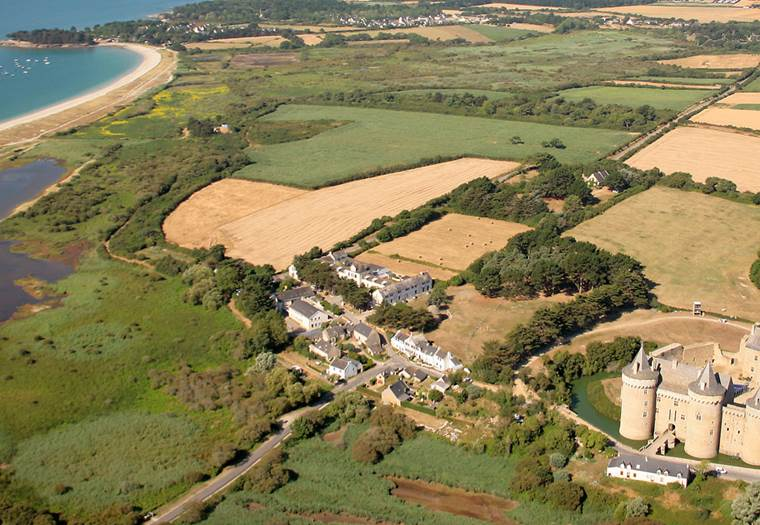 Plage-Suscinio-Sarzeau-Morbihan-Bretagne-Sud © M. Schaffner