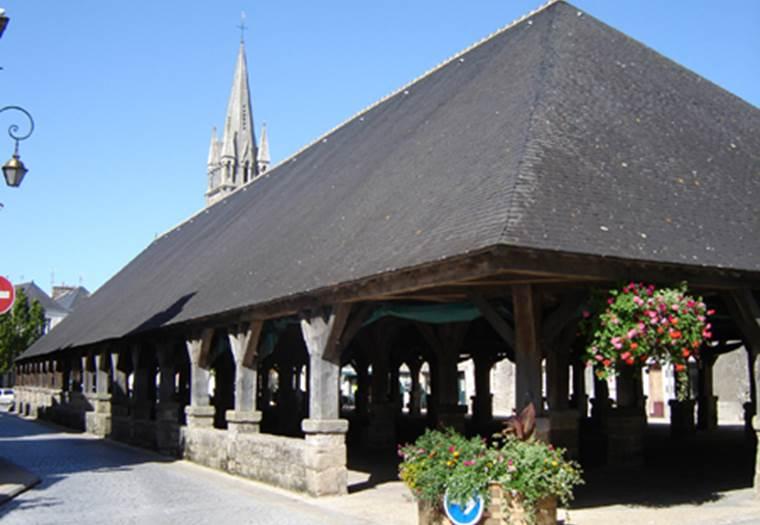 Les Halles - Morbihan - Bretagne Sud © Office de Tourisme