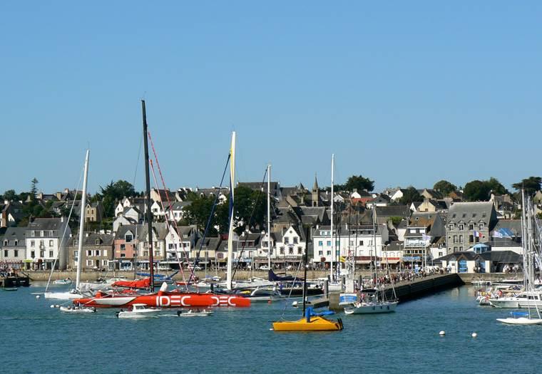 Port vue 2 - La Trinité sur Mer - Morbihan Bretagne Sud © Office de Tourisme