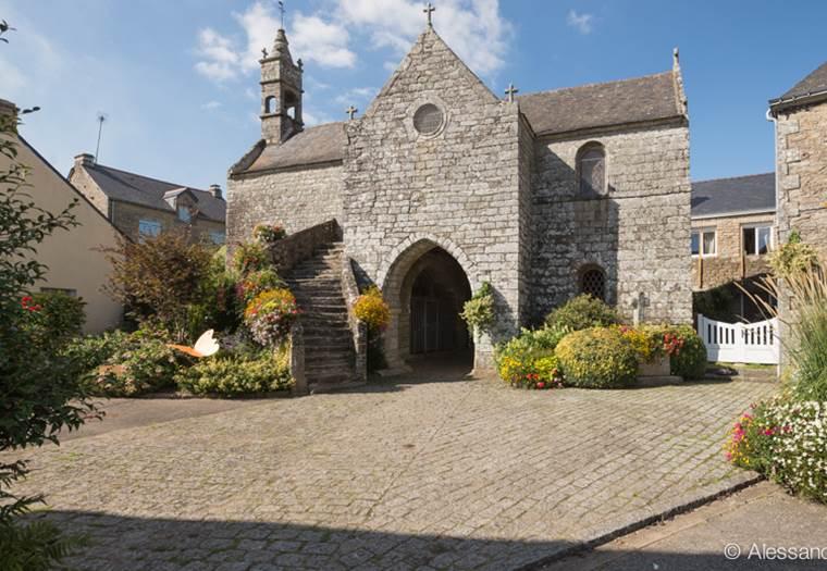Chapelle de La Vraie-Croix - Morbihan Bretagne Sud © Alessandro Gui