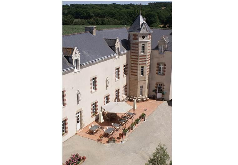 Le-Manoir-de-Kerbot-Sarzeau-Presqu'île-de-Rhuys-Golfe-du-Morbihan-Bretagne sud © Le Manoir de Kerbot