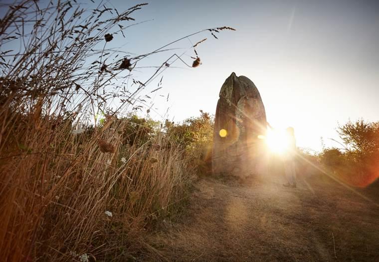 Menhir de Kermaillard - Sarzeau - Morbihan - Bretagne Sud ©