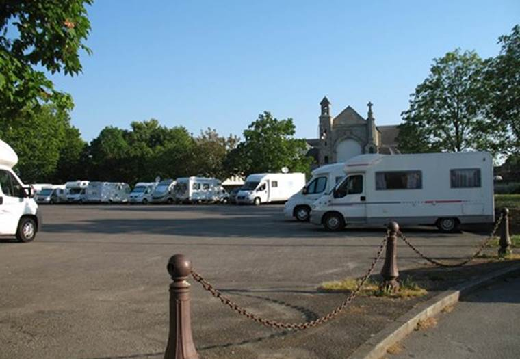Aire de camping-car communale  © Ot du Pays de Josselin