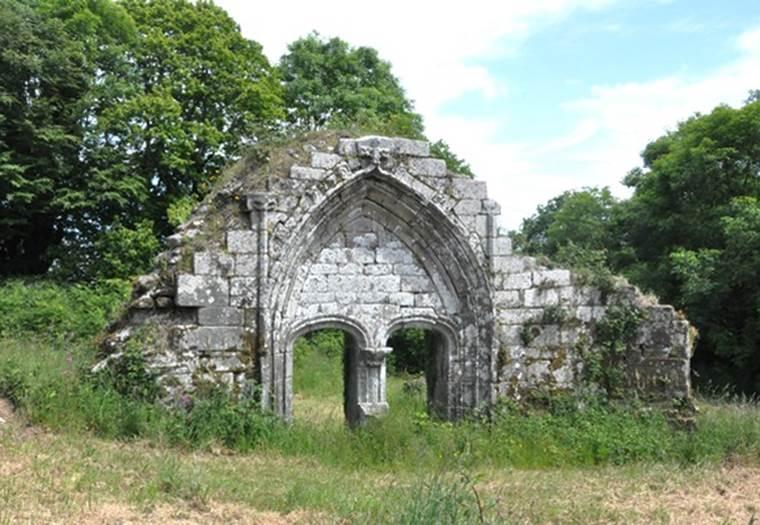 Chapelle-Vestiges-Saint-Maude-Plouray-Pays-Roi-Morvan-Morbihan-Bretagne-Sud © CCPRM