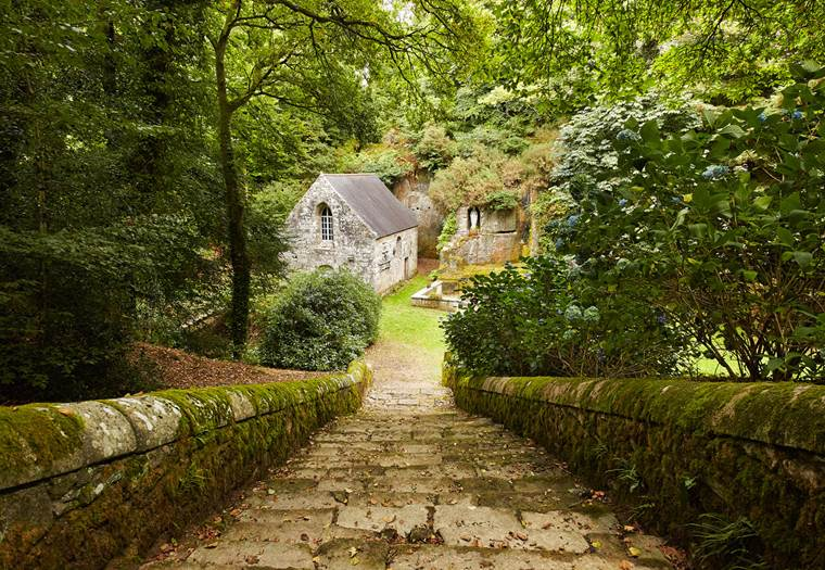 Locuon, église, chapelle, carrière gallo-romaine, Ploerdut, Morbihan, Bretagne Sud © Alexandre Lamoureux