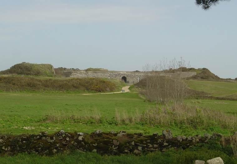 fort ile-hoedic morbihan-bretagne-sud © conservatoire du littoral
