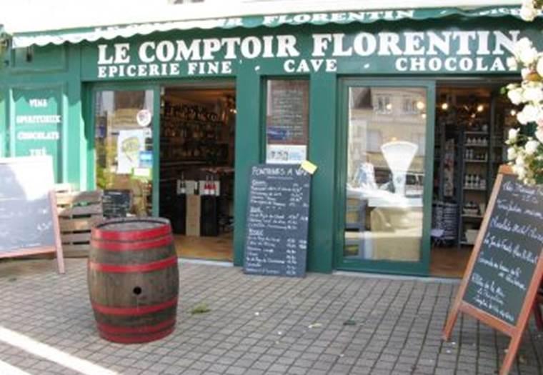 Commerce; Epicerie fine et cave; Le comptoir Florentin; Carnac Morbihan Bretagne sud ©